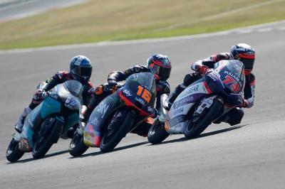 Moto3™ : Arenas sous pression pour le GP d'Émilie-Romagne