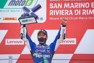 MotoE™: the best action clips from San Marino GP