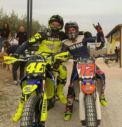 Enjoying like a kid thanks @valeyellow46 for the experience and