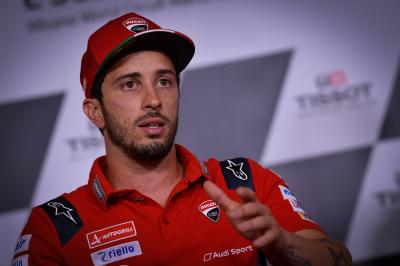 Dovizioso explains why he'll ride a road bike at Portimao