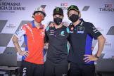 Francesco Bagnaia, Franco Morbidelli, Valentino Rossi, Gran Premio TISSOT dell'Emilia Romagna e della Riviera di Rimini