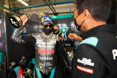 "Unseen: Morbidelli celebrates ""team win"" with Petronas SRT"
