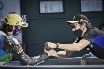 Rossi analiza el inminente salto de Marini a MotoGP™