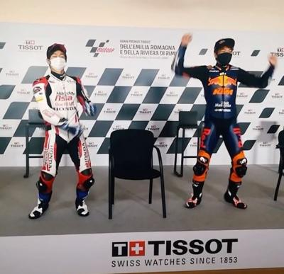 If #MotoGP done talent shows...  @tetsutanagashima and @aiogura79 swap