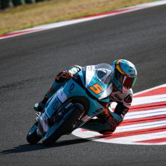 Masia legt die Messlatte mit neuem Rundenrekord im FP2