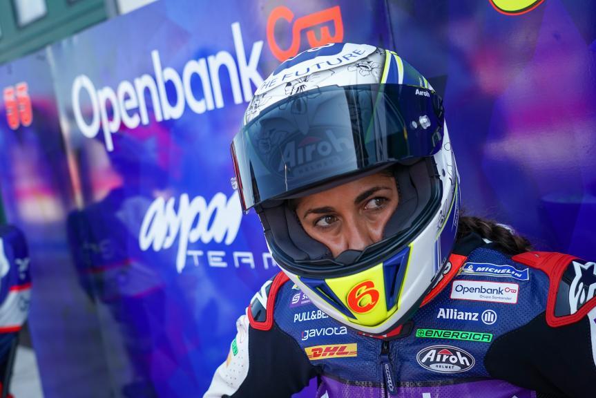 Maria Herrera, OpenBank Aspar Team, Gran Premio TISSOT dell'Emilia Romagna e della Riviera di Rimini