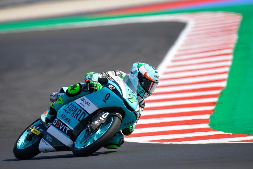 Dennis Foggia, Leopard Racing, Gran Premio TISSOT dell'Emilia Romagna e della Riviera di Rimini
