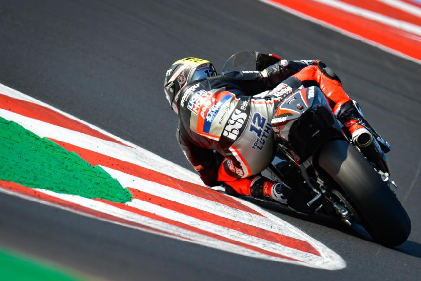 Thomas Luthi, Liqui Moly Intact GP, Gran Premio TISSOT dell'Emilia Romagna e della Riviera di Rimini