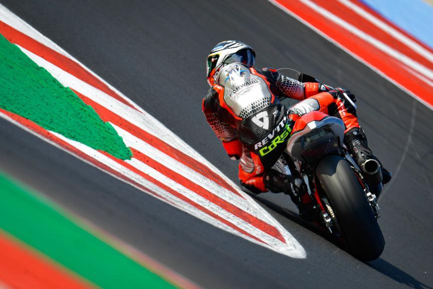 Simone Corsi, Mv Agusta Temporary Forward, Gran Premio TISSOT dell'Emilia Romagna e della Riviera di Rimini