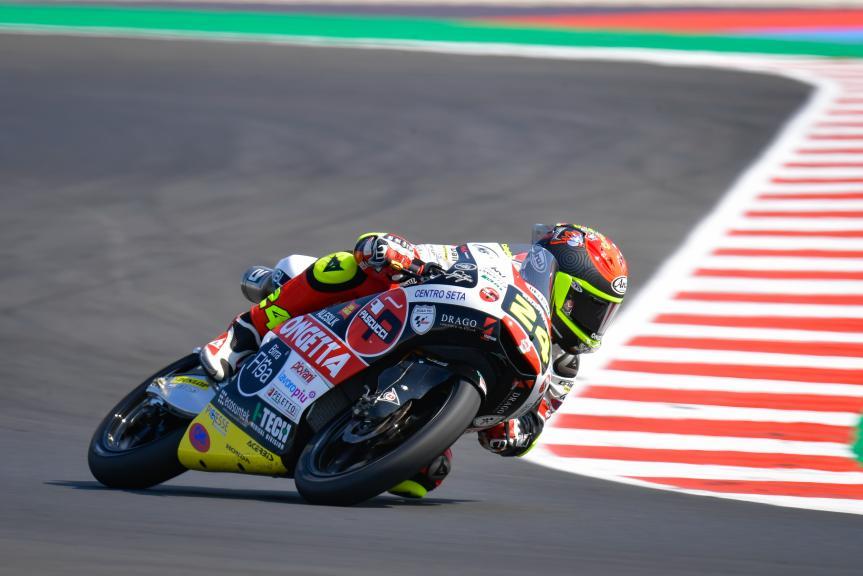 Tatsuki Suzuki, Sic58 Squadra Corse, Gran Premio TISSOT dell'Emilia Romagna e della Riviera di Rimini