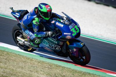 GP d'Émilie-Romagne - Moto2™ : Bastianini déjà aux commandes