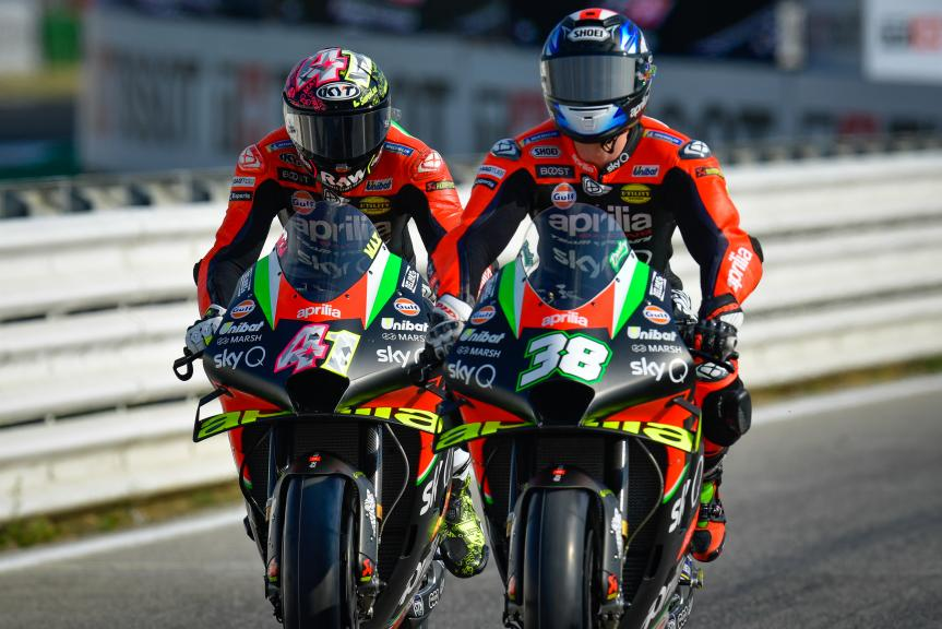 Bradley Smith, Aprilia Racing Team Gresini, Gran Premio TISSOT dell'Emilia Romagna e della Riviera di Rimini