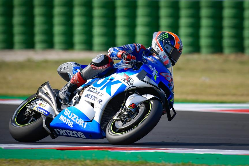 Alex Rins, Team Suzuki Ecstar, Gran Premio TISSOT dell'Emilia Romagna e della Riviera di Rimini