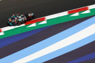 FREE: Final flurry of laps in FP2 at the Emilia Romagna GP