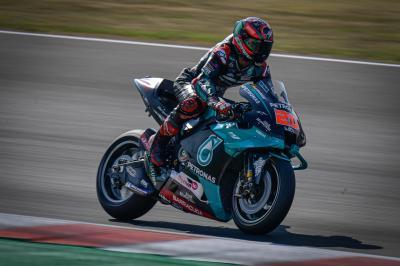 Quartararo vuole il riscatto al GP dell'Emilia-Romagna