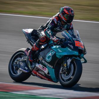 Quartararo führt Petronas SRT-Doppel im FP1 an