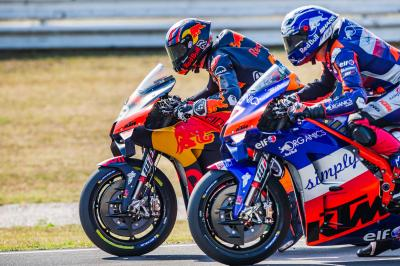 KTM regain 2020 form after a quiet San Marino weekend