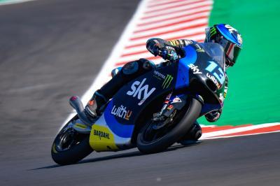 Vietti obliterates the outright lap record in Moto3™ FP3