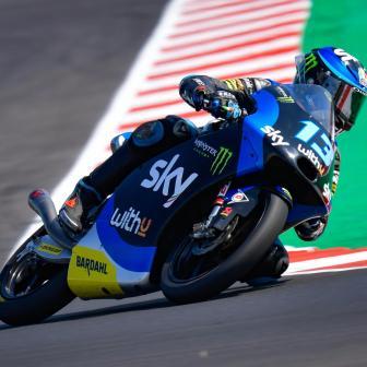 Vietti löscht den absoluten Rundenrekord im Moto3™ FP3 aus
