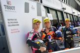 Raul Fernandez, Tony Arbolino, Andrea Migno, Gran Premio TISSOT dell'Emilia Romagna e della Riviera di Rimini