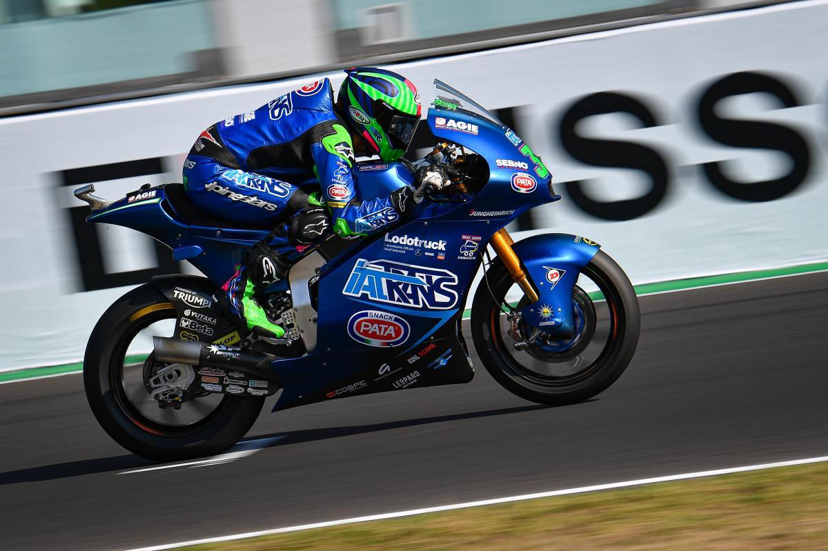Bastianini sets fastest-ever Misano Moto2™ lap for FP3 P1