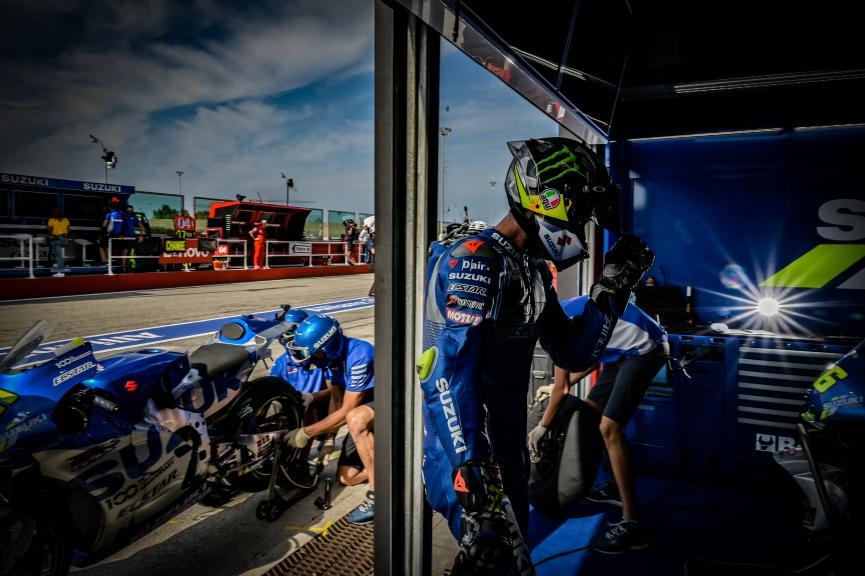 Joan Mir, Team Suzuki Ecstar, Gran Premio TISSOT dell'Emilia Romagna e della Riviera di Rimini
