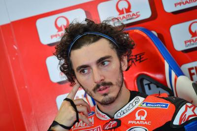'It could've been the perfect day' - Bagnaia rues late error