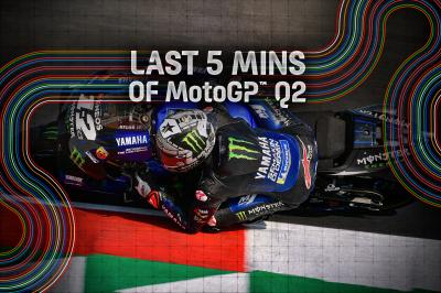 FREE VIDEO! Last 5 minutes of MotoGP™ Q2 at Misano