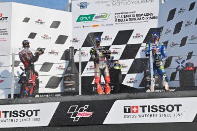 MotoE™ - GP d'Émilie-Romagne : Ils ont brillé en course 1