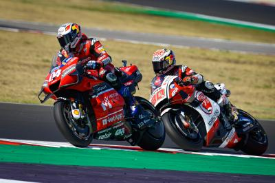Time For Dovizioso To Shine With The Title On The Line Motogp
