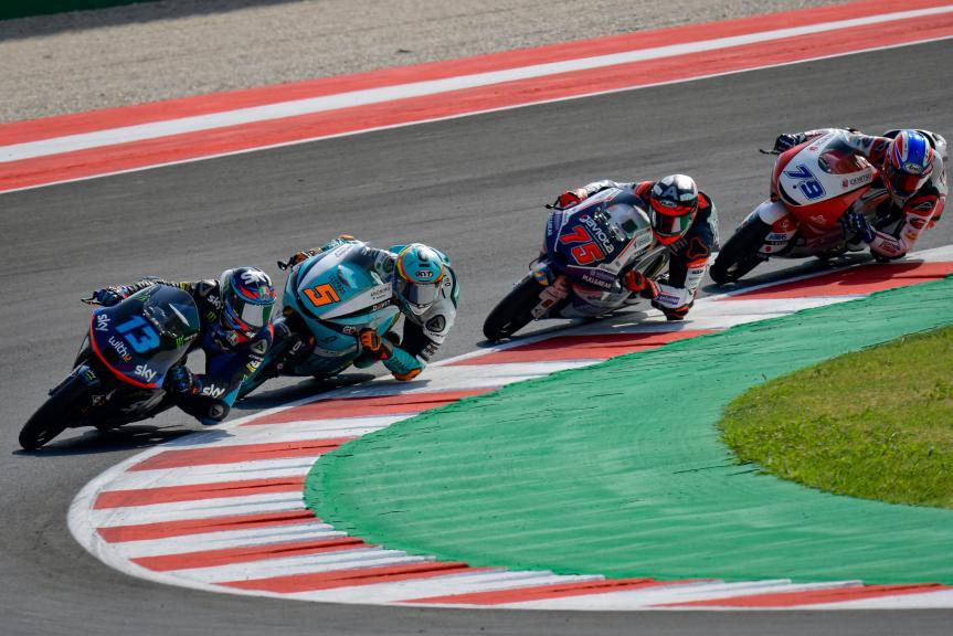 Jaume Masia, Leopard Racing, Gran Premio TISSOT dell'Emilia Romagna e della Riviera di Rimini