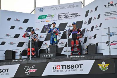 MotoE™: I volti sul podio nel GP dell'Emilia-Romagna