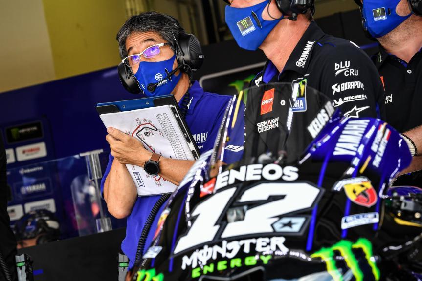 Maverick Vinales, Monster Energy Yamaha MotoGP, Gran Premio TISSOT dell'Emilia Romagna e della Riviera di Rimini