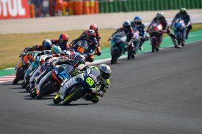 FREE! The full final lap and fierce fight for Moto3™ glory