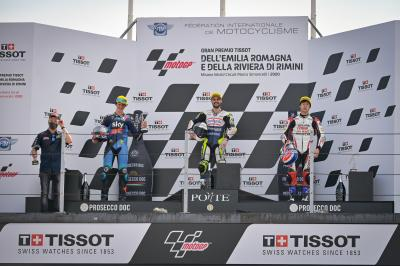 """The final lap was so crazy!"" - Moto3™ rostrum round-up"