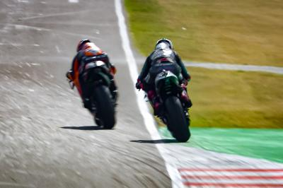 Quartararo: 'I didn't get a track limits warning message'