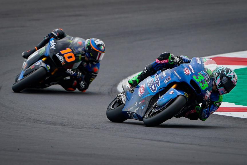 Luca Marini, SKY Racing Team Vr46, Gran Premio TISSOT dell'Emilia Romagna e della Riviera di Rimini