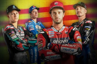 Four riders in four points: boiling point in Barcelona