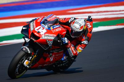 Time for Dovizioso to shine with the title on the line