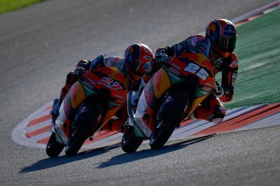 Moto3™ : Masia brille en FP2, Fernández conserve l'avantage