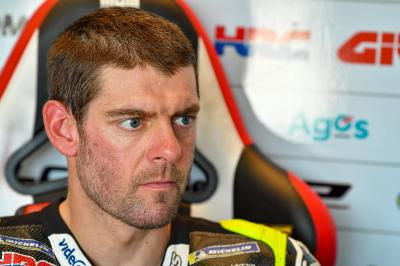 Crutchlow grits his teeth to be on the edge of the top 10