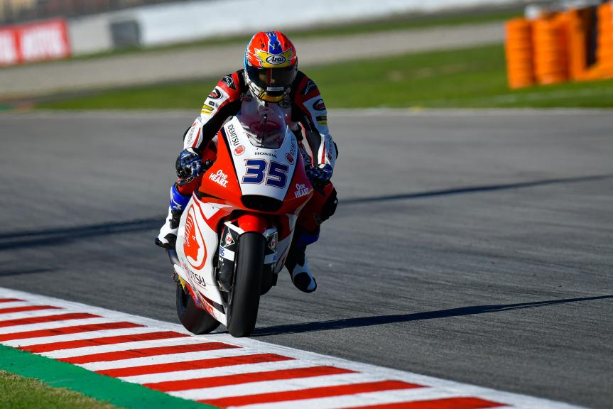 Somkiat Chantra, Idemitsu Honda Team Asia, Gran Premi Monster Energy de Catalunya