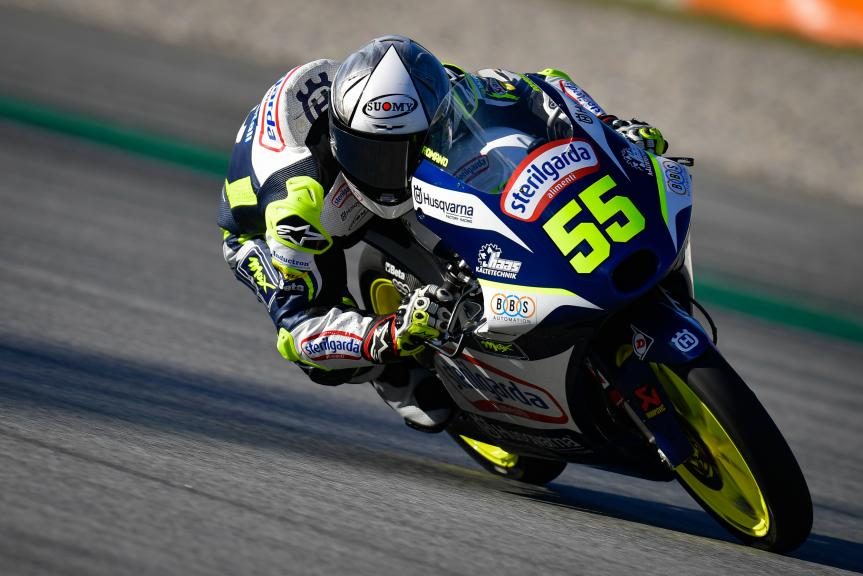 Romano Fenati, Sterilgarda Max Racing Team, Gran Premi Monster Energy de Catalunya