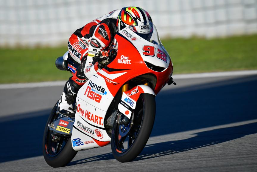 Yukii Kunii, Honda Team Asia, Gran Premi Monster Energy de Catalunya
