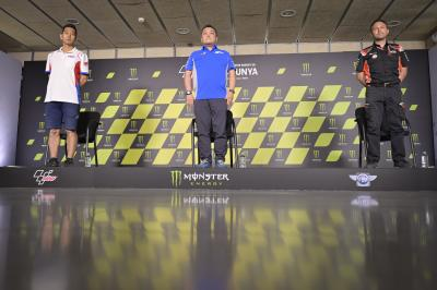 Suzuki, Honda & Aprilia Technical Managers' Press Conference
