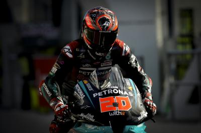 Quartararo leads title rival Dovizioso in Barcelona FP1