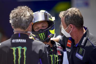 """Rossi verabschiedet sich  von Teil seiner Crew-""""Familie"""""""