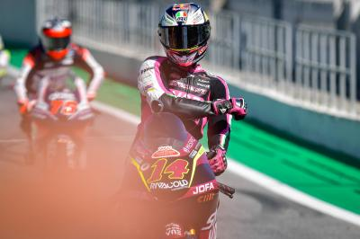 Arbolino storms to lap record Barcelona pole position