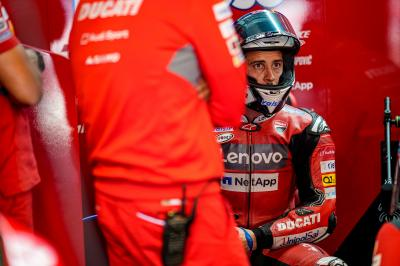 Dovizioso leaves a mountain to climb after disaster day