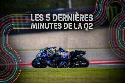 GP de Catalogne : Les 5 dernières minutes de la Q2